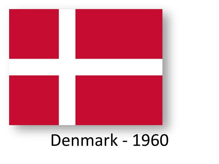 Denmark - 1960