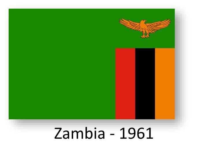 Zambia - 1961