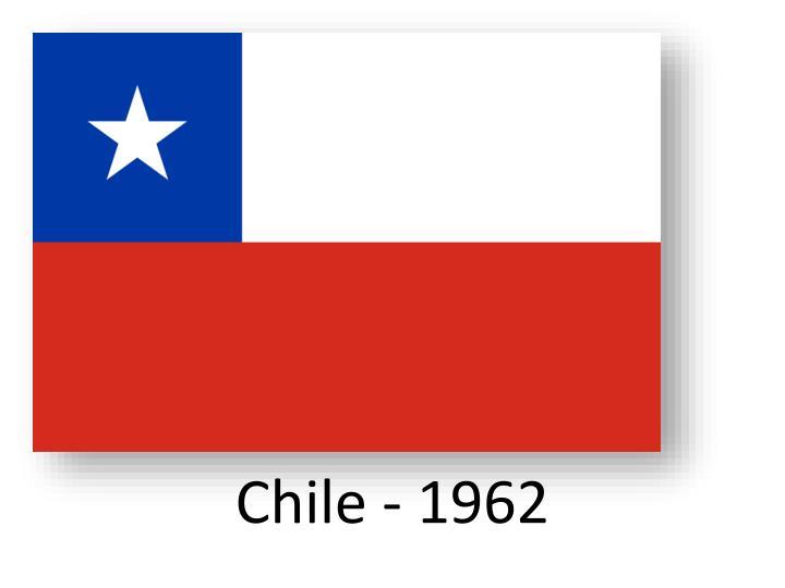 Chile - 1962