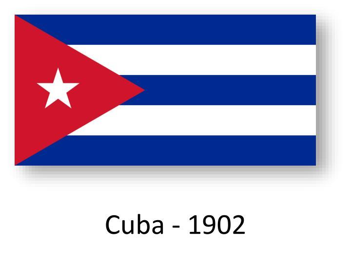 Cuba - 1902
