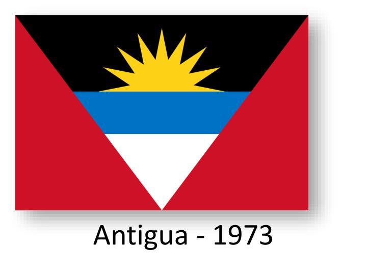 Antigua - 1973