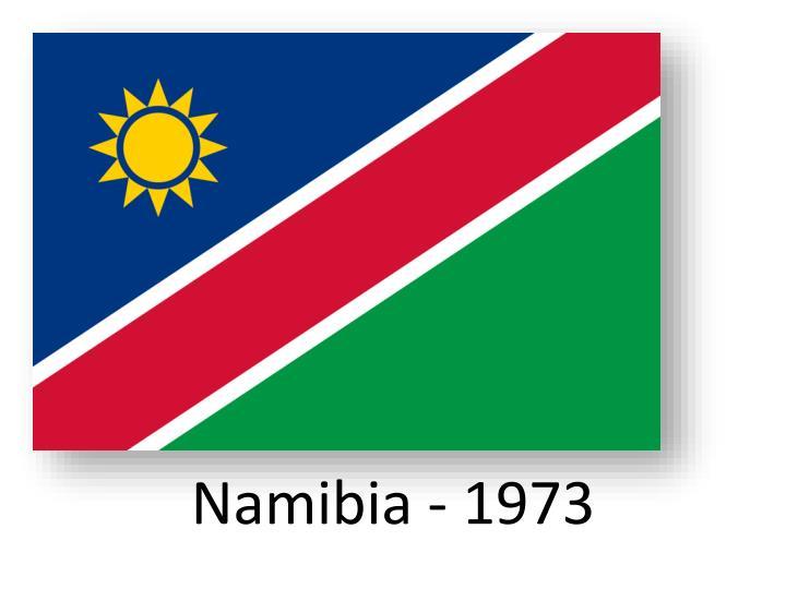 Namibia - 1973