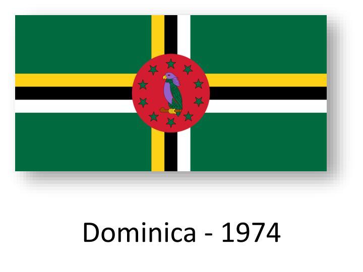 Dominica - 1974