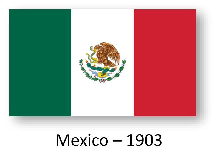 Mexico – 1903