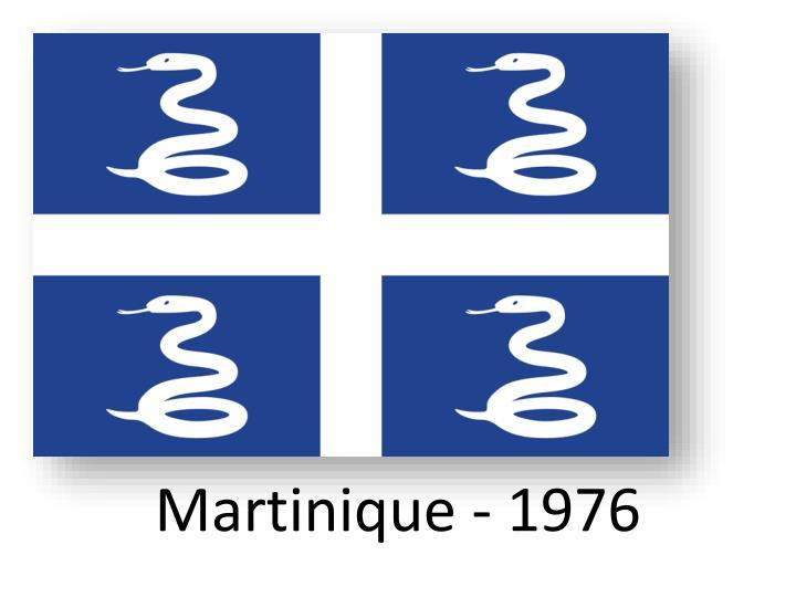 Martinique - 1976