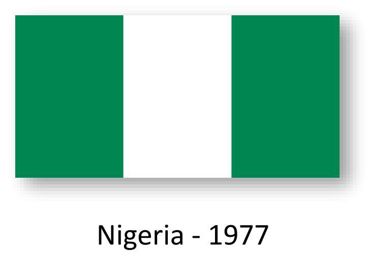 Nigeria - 1977