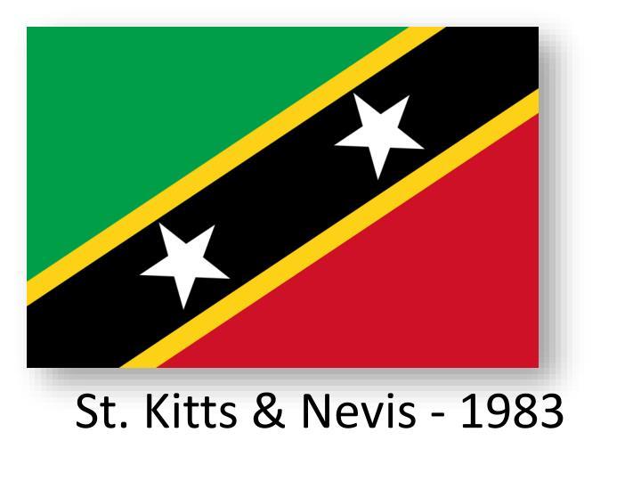 St. Kitts &