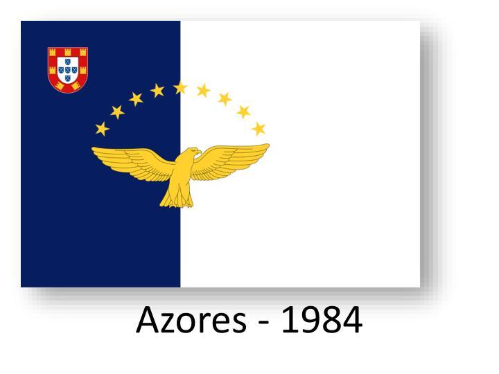 Azores - 1984