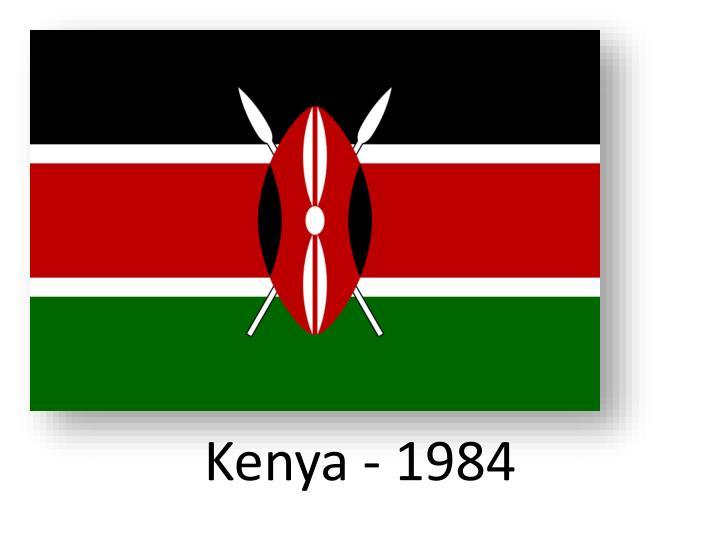 Kenya - 1984
