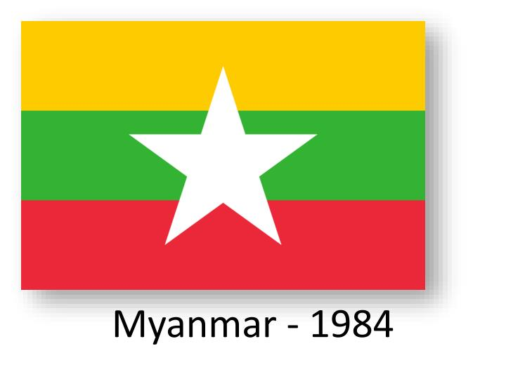 Myanmar - 1984
