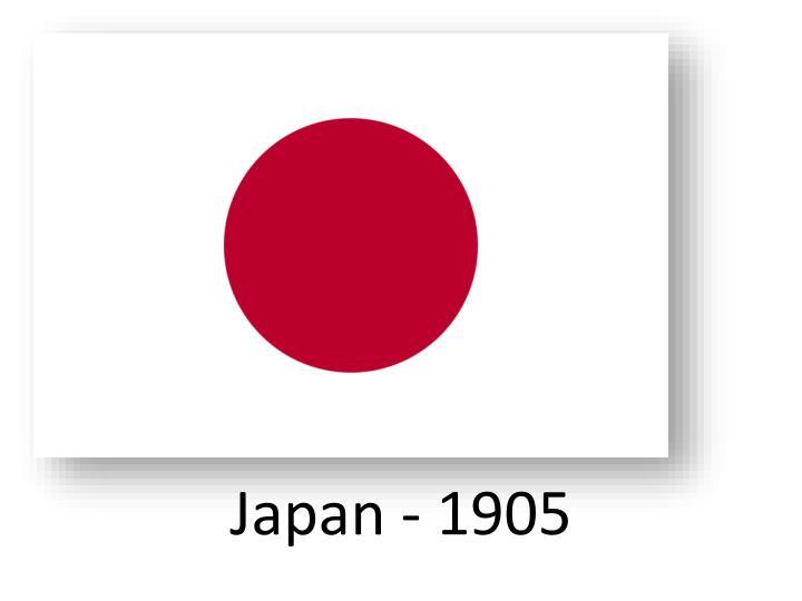 Japan - 1905