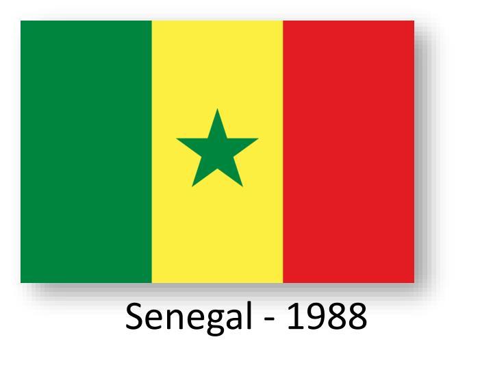 Senegal - 1988