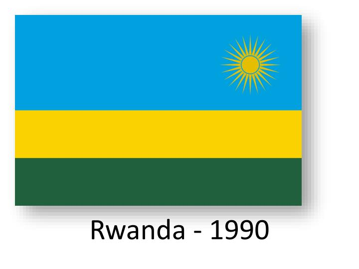 Rwanda - 1990