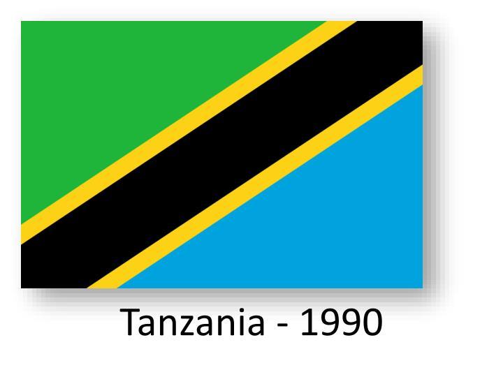 Tanzania - 1990