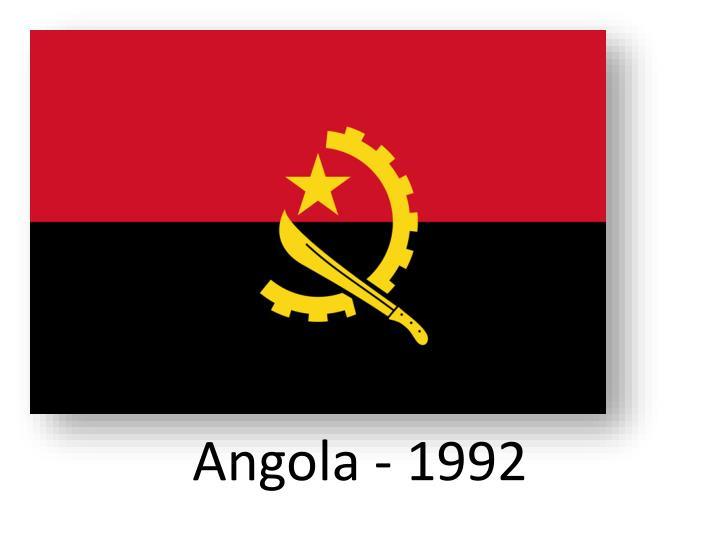 Angola - 1992