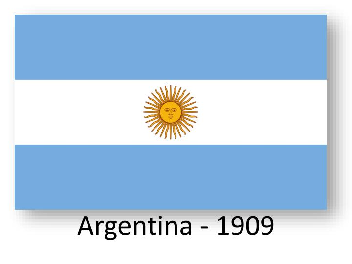 Argentina - 1909