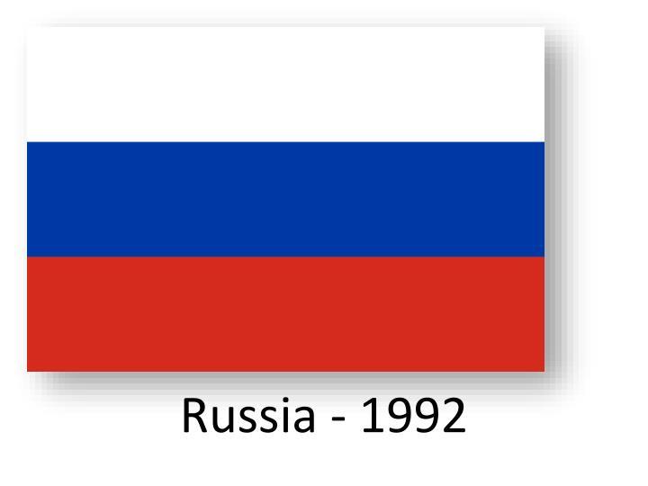Russia - 1992