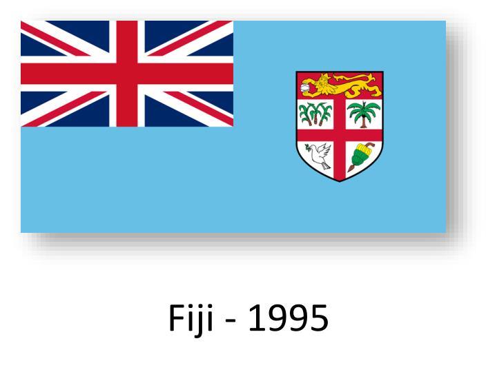 Fiji - 1995