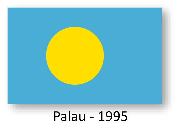 Palau - 1995