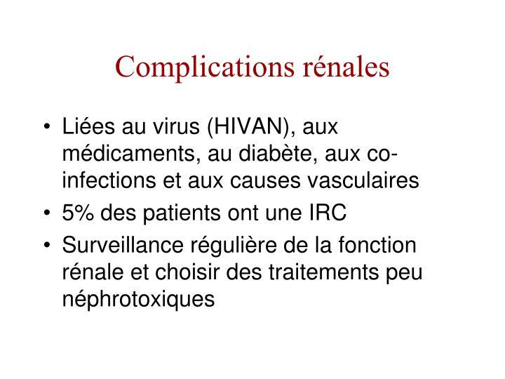 Complications rénales