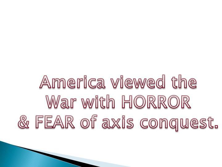 America viewed the