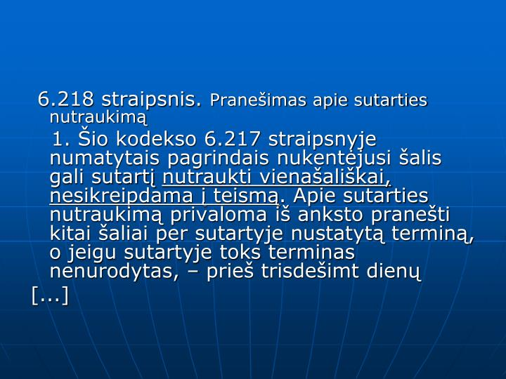 6.218 straipsnis.