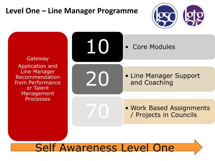 Level One – Line Manager Programme