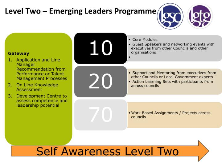 Level Two – Emerging Leaders Programme