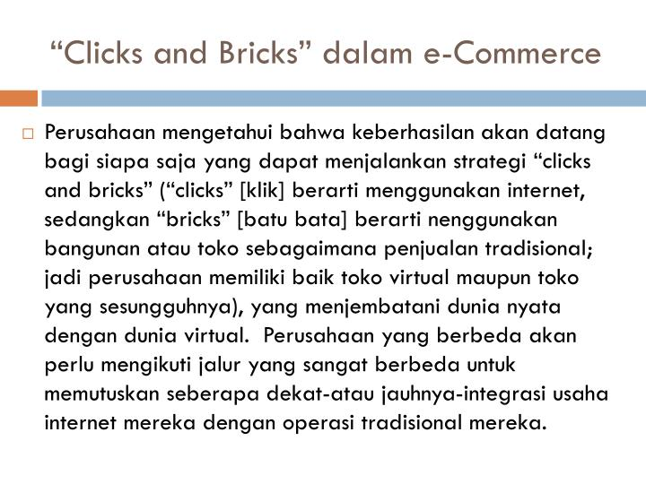 """Clicks and Bricks"""