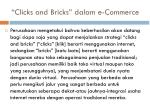 clicks and bricks dalam e commerce