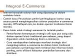 integrasi e commerce