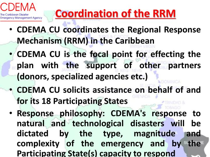 Coordination of the RRM