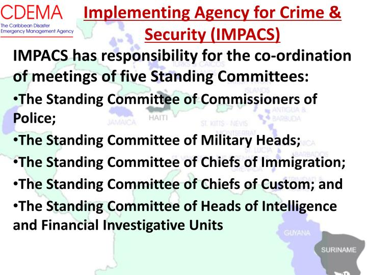 Implementing Agency for Crime & Security (IMPACS)