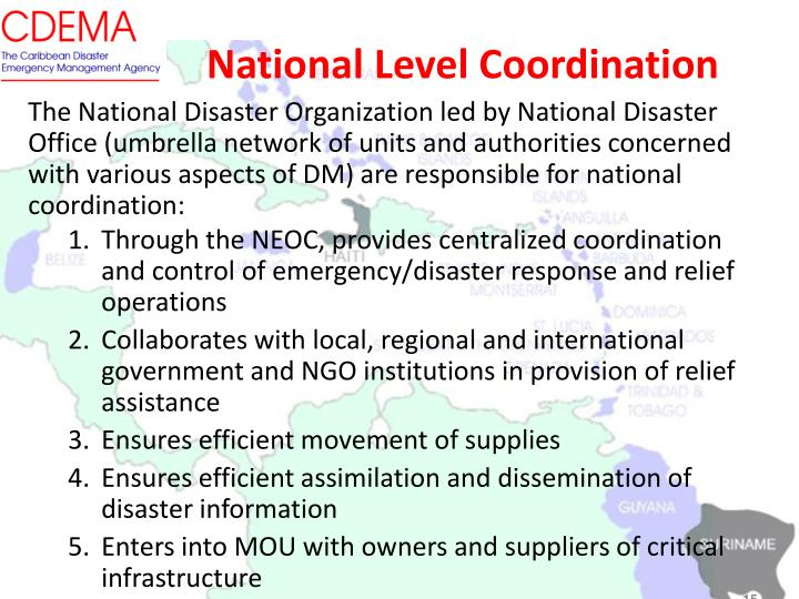 National Level Coordination