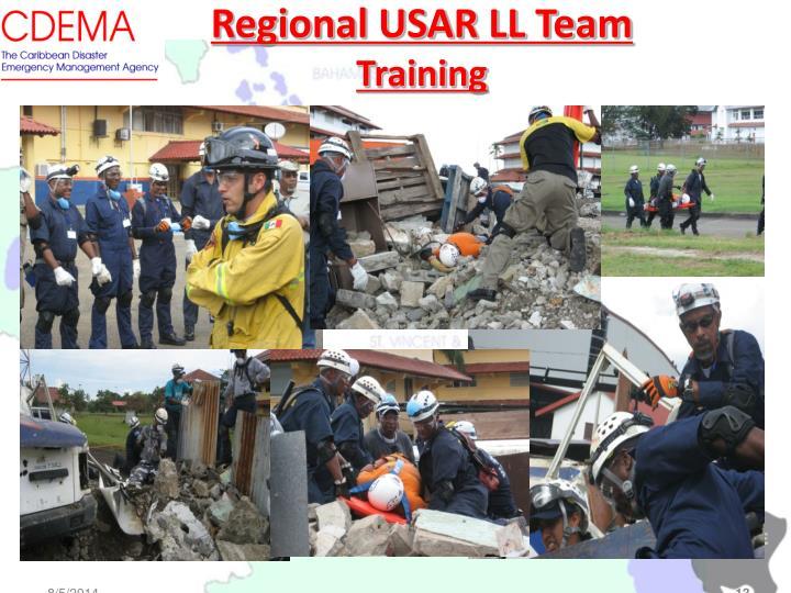Regional USAR LL Team
