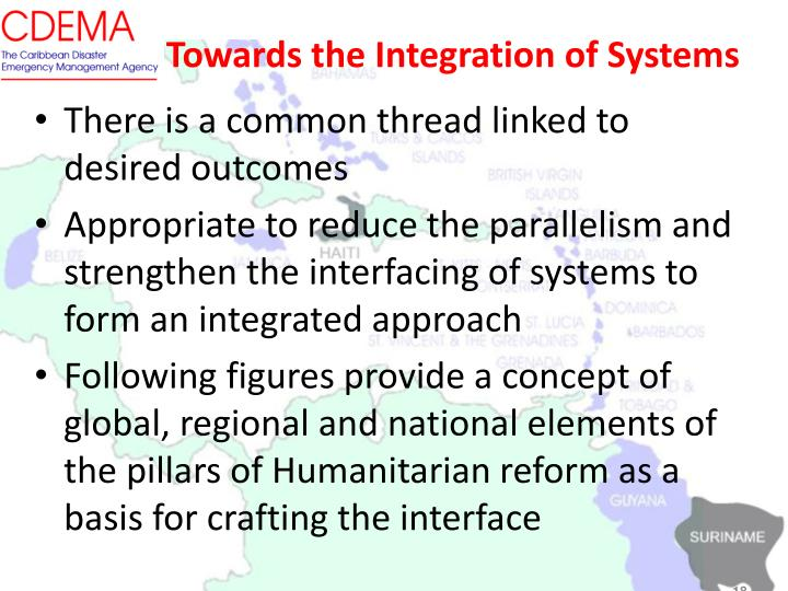 Towards the Integration of Systems