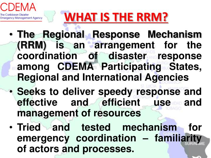 WHAT IS THE RRM?