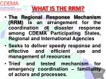 what is the rrm