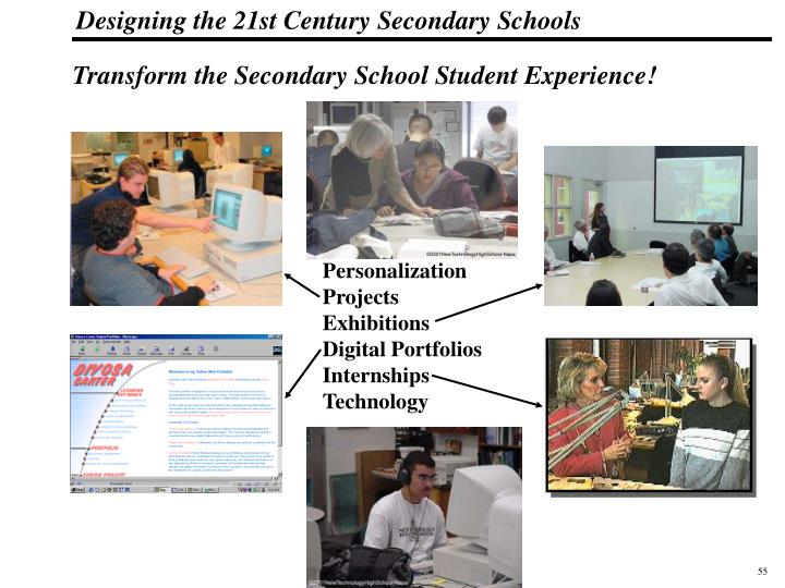 Transform the Secondary School Student Experience!