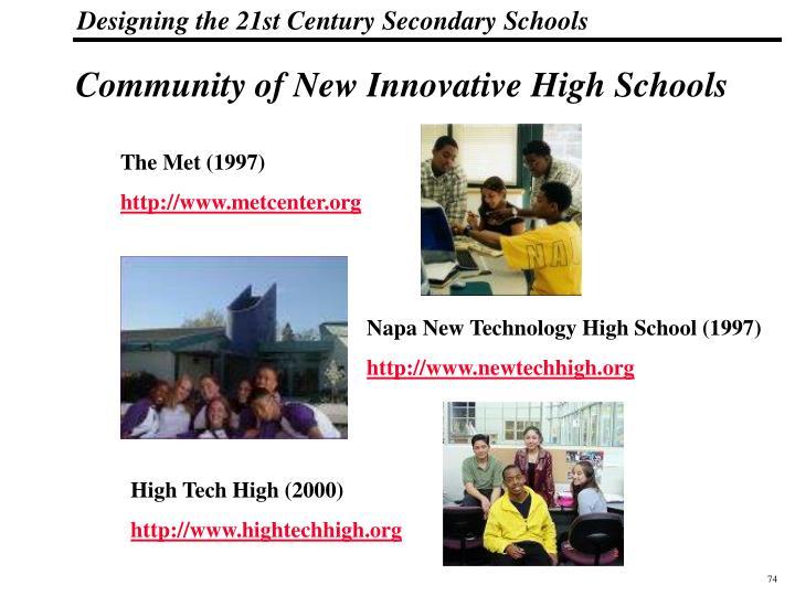 Community of New Innovative High Schools