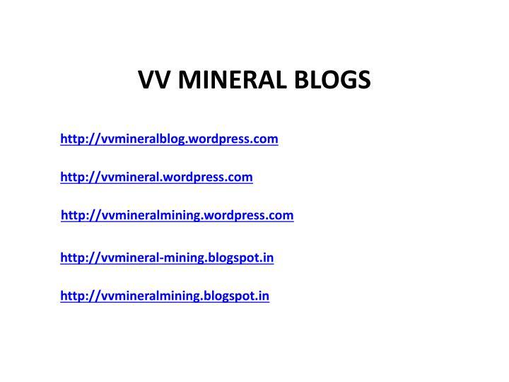 http://vvmineralblog.wordpress.com