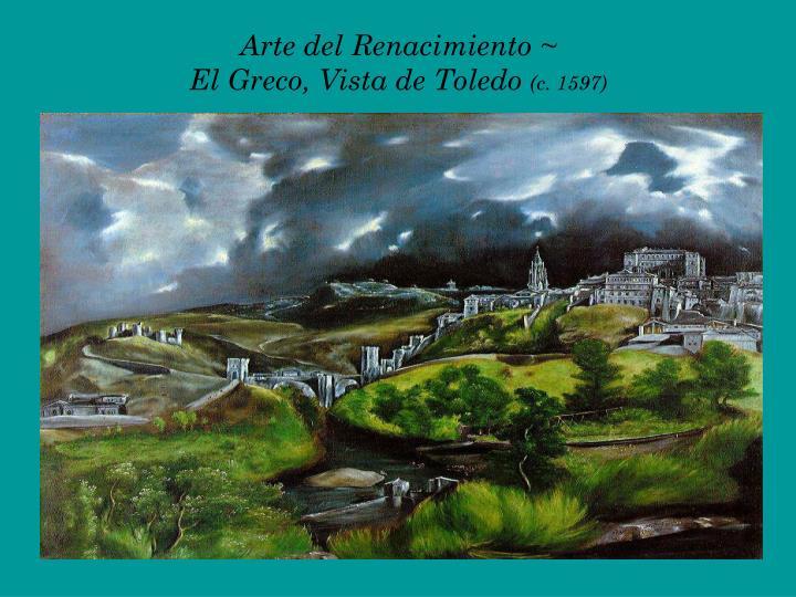 Arte del Renacimiento ~