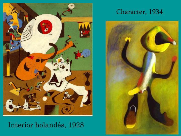 Character, 1934