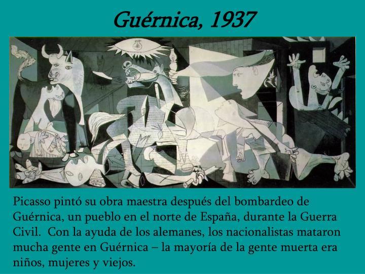 Guérnica, 1937