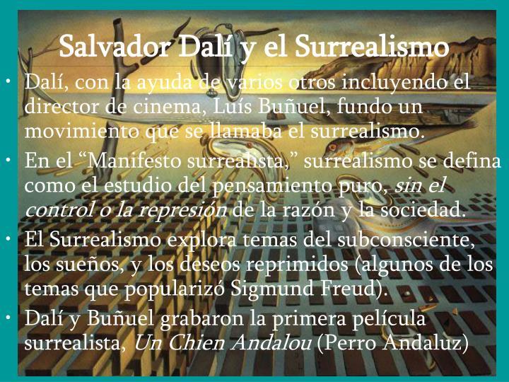 Salvador Dalí y el Surrealismo