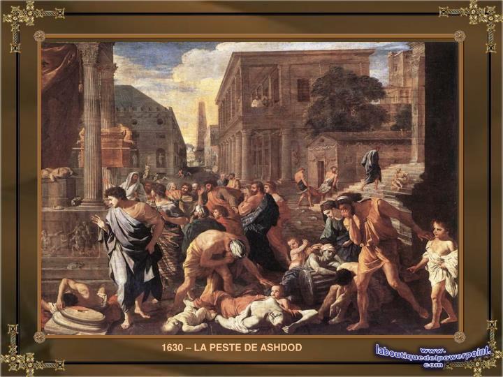 1630 – LA PESTE DE ASHDOD