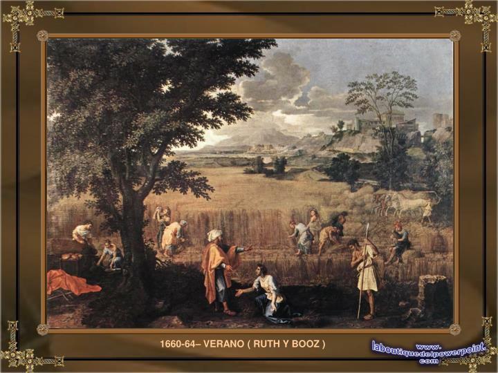 1660-64– VERANO ( RUTH Y BOOZ )