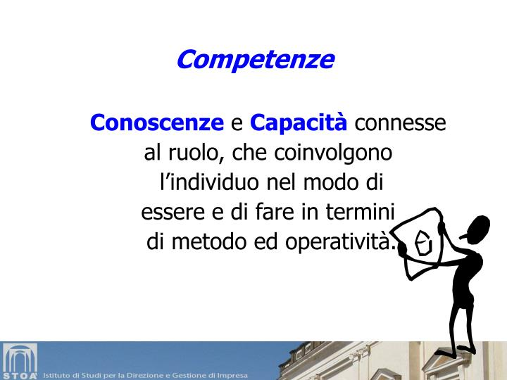 Competenze