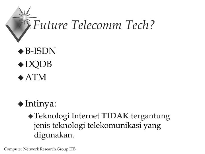 Future Telecomm Tech?