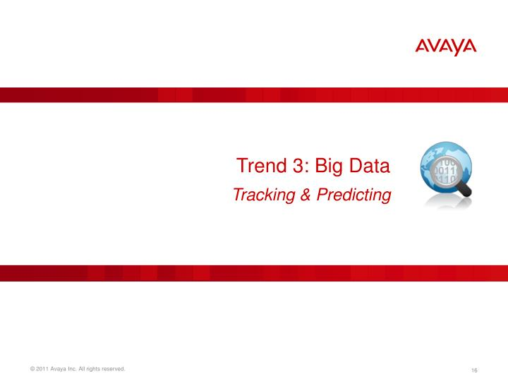 Trend 3: Big Data